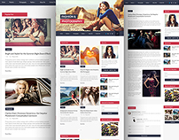 Multipage Personal Blog Web Template