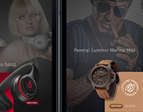 ShopThisLook App UI