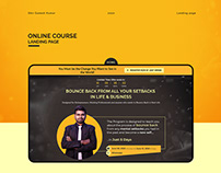 Landing Page | Online Course