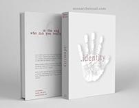 """""""Identity"""" Book cover concept"""