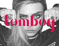 Tomboy - typeface