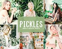 Free Pickles Mobile & Desktop Lightroom Presets