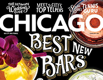 Chicago Magazine - Hand Lettered Cover