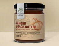 Appleberry Fine Foods Fruit Butter Labels