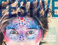 FESTIVE Magazine | Editorial Design
