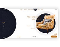 Tuga furniture web design
