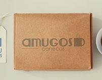 Amugos Canecas - Branding