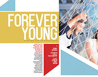 Forever Young Layout Design
