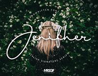 Jenifher Signature Font