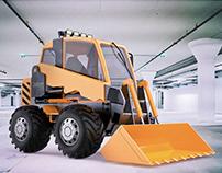 Loading Machine Design Project for Uralvagonzavod JSC