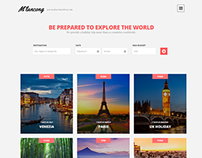 Melancong - Modern Travel WordPress Theme