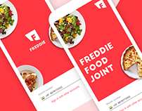 Freedie Food Delivery Mobile UI
