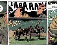 Sarı Celal-A comic short monthly
