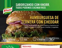 Publicaciones distintos formatos para Knorr