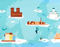 Icebreaker : packagings et dérivés