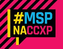 #MSPnaCCXP