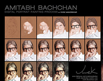 AMITABH BACHCHAN Painting Walkthrough