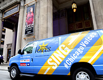 Chicago Voices x Lyric Opera Van Design