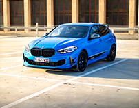BMW M135i xDrive with M Performance Parts