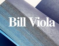 Bill Viola - Book Design