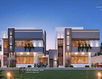 Modern Twin Villa
