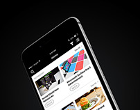 AdMine - iOS & Web Based Application & Landing Page
