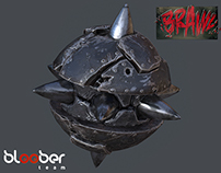 """3D  Game assets to the  """"BRAWL"""" -  Bloober Team Studio"""