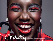 Crazy with myself, HUF Magazine #73