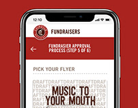 Chipotle Fundraisers Application