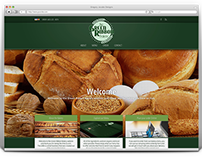 The Green Ribbon Bakery - Responsive Website Design