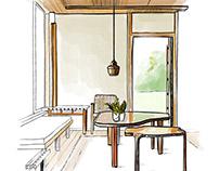 Interior design - Sketchbook