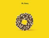 Graphis Silver | Honey Nut Cheerios