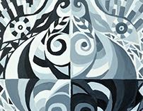 Grayscale, Line & Color Studies