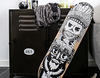 Skate art - Totem