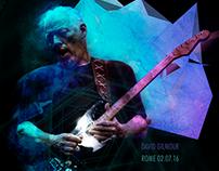 David Gilmour in Rome