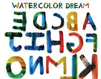 Watercolor Dream Font
