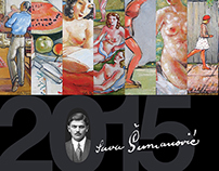 Sava Šumanović year calendar and event branding