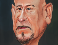 Caricature - Ben Kingsley