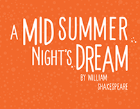 A Mid Summer Night's Dream — Poster
