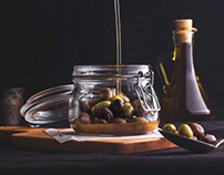 Zeitona - Lebanese bistro (food styling)