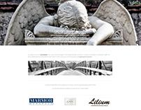 Lilium website design