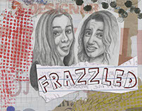 """KUCD Playhouse's """"Frazzled"""" Play Posters"""
