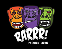 RARRR! eLiquid Website Design