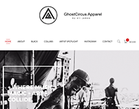 ghostcircusapparel.com re-design