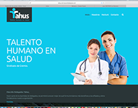 Tahus - Diseño de página web