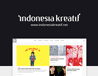 Indonesia Kreatif Website Redesign