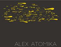 AlexAtomika dynamic logo concept