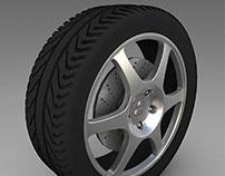 Alias: 3D Wheel Making.