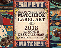 2018 ChetArt Desktop Calendar
