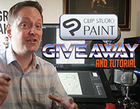 Clip Studio Paint GIVEAWAY & Tutorial